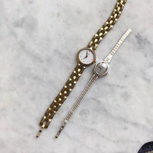 Vintage bulova G/S bracelet watch / Elgin vtg free